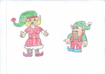 Santa's elves (7) by trexking45