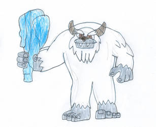 Bentley the yeti by trexking45