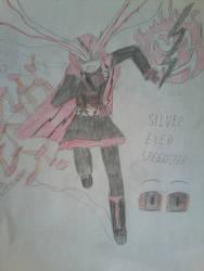 RWBY- Red Flash (silver spark) by Halkras12