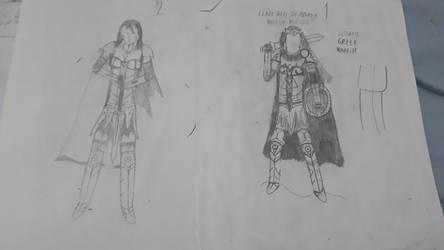 Clara niki, Armor concept by Halkras12
