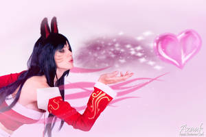 Ahri - If you'd like to play with me..... by Azaak
