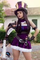 Caitlyn - LoL by Azaak