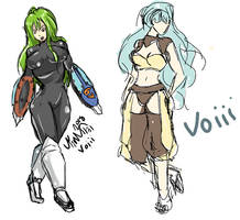 More Sketches by Voiii