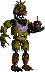 Nightmare Gold94Chica by Official-Bonfyre