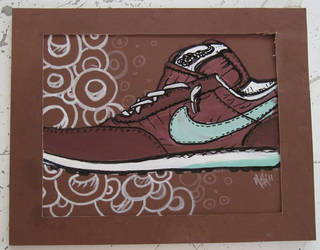 Nike Waffles by mikedestructive