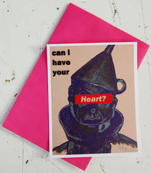 Can I Have Your Heart Limited Numbered Valentine's by mikedestructive
