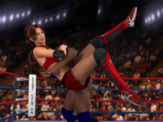 Vanessa Hunter vs Anne Carter 2D by PhoenixCreed