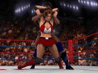 Vanessa Hunter vs Anne Carter 3C.2 by PhoenixCreed