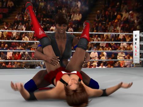 Vanessa Hunter vs Anne Carter 3D.6 by PhoenixCreed