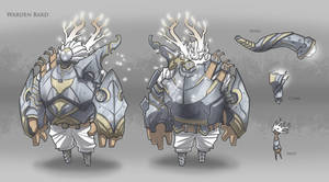 Warden Bard - League of Legends Skin Concept by BrotherBaston