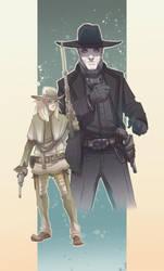 Westworld - Armistice / Man In Black by BrotherBaston