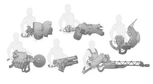 Heavy Weapons by BrotherBaston