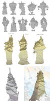 World Building / Days 1-3 : City-Spires of Infra by BrotherBaston