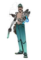 Mechanical Gambler by BrotherBaston