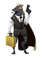 Werewolf Agent by BrotherBaston