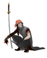 Swordsman by BrotherBaston
