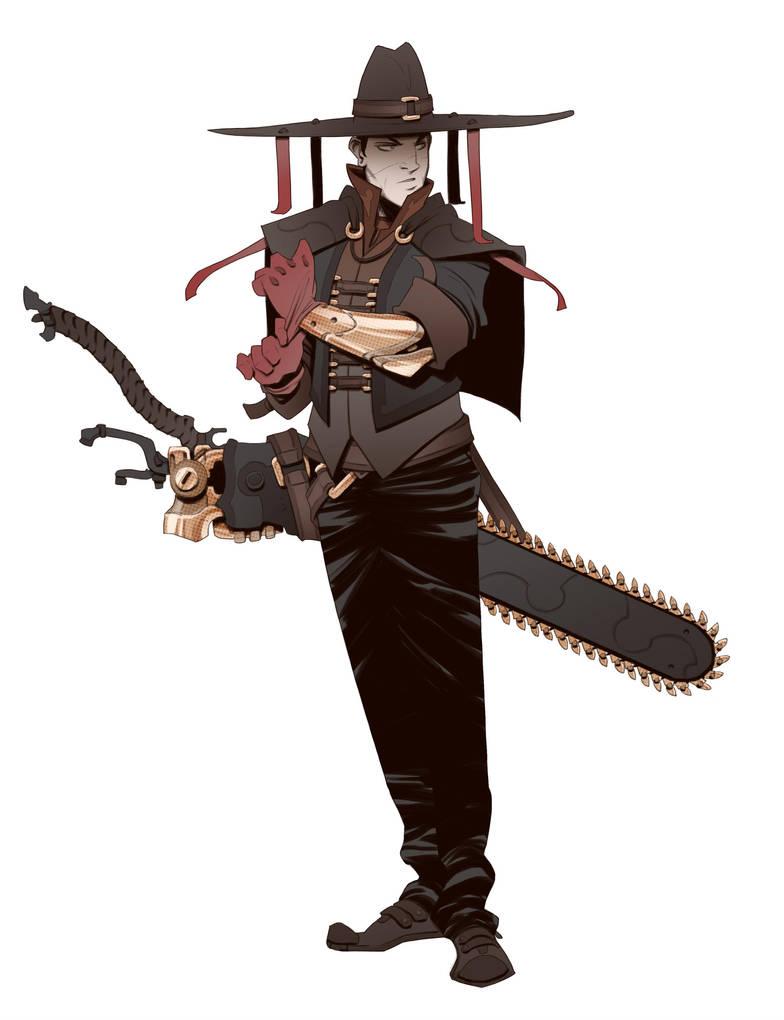 Quironite Swordsman by BrotherBaston