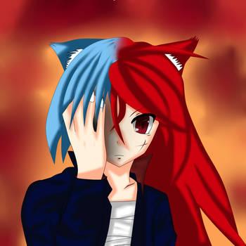 (OC) Scarlet transforming by TheSeiferOne