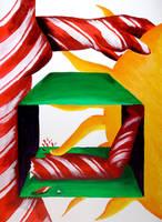 Candy Cane Girl by tekitsune