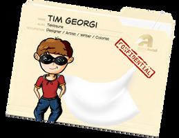 deviantID - Confidential Folder by tekitsune