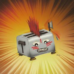 Brave Little Toaster by tekitsune