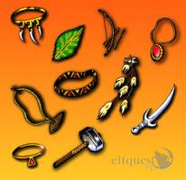 Elfquest.com Icons by tekitsune