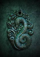 Slytherin pendant by Ellana333