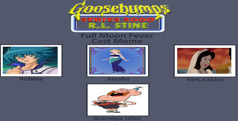 My Goosebumps 2000 Book 22 Cast Meme by gxfan537