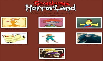 My Goosebumps Horrorland Book 6 by gxfan537