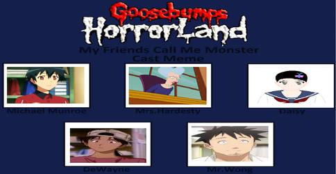 My Goosebumps Horrorland Book 7 by gxfan537