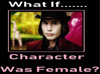 My What If Character Was Female Meme by gxfan537