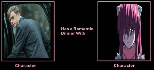 My What If Character Has A Romantic Dinner Meme by gxfan537