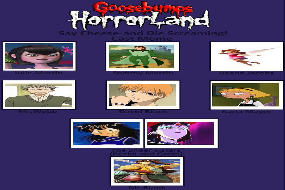 My Goosebumps Horrorland Book 8 by gxfan537