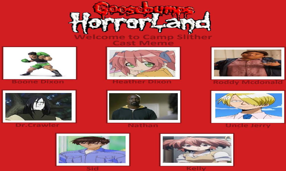 My Goosebumps Horrorland Book 9 by gxfan537