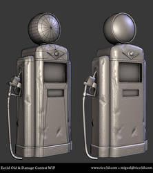 Eat3d Old and Damaged - Wip 03 by AutopsySoldier