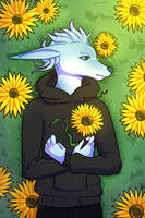 sunflowers by iownfish