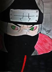 Naruto Shippuden - Kakuzu (1(Drawing by AS) by AsDrawings