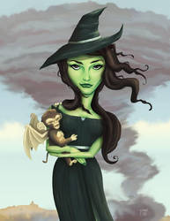 Elphaba, from 'Wicked' by whysoawesome