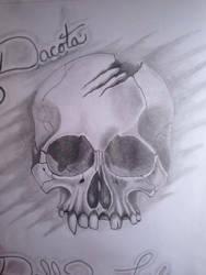 Dacota gift sketch  by ballzy88