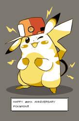 Pokemon 20th Anniversary by AddSomePurple