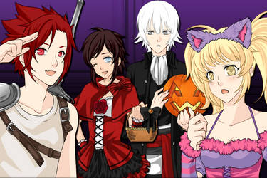 HALLOWEEN PARTY YES by GreenyBluePlanet
