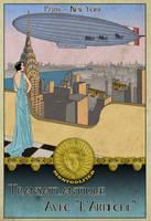 Airship Advert by edthomasten