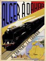 The Trans-Saharan Railway by edthomasten