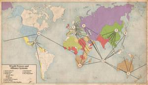 World Alliances, 1940 by edthomasten