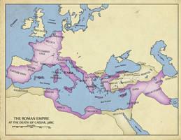 38BC- The Death of Caesar by edthomasten