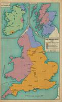 The British Isles, 1645 by edthomasten