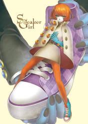 Sneaker Girl by yukkeKY