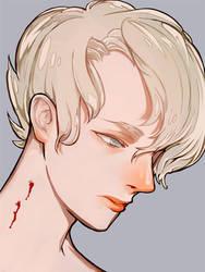 He bleed. by yukkeKY