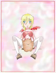 blushing robo by JcR0