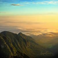 Permian Sunrise by Miguel-Santos